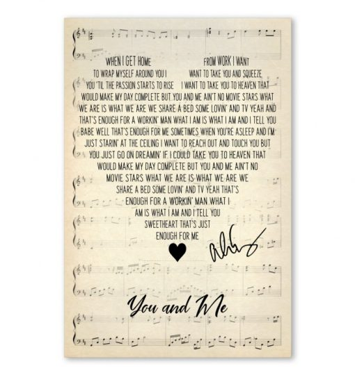 You and Me - Alice Cooper Lyrics poster3