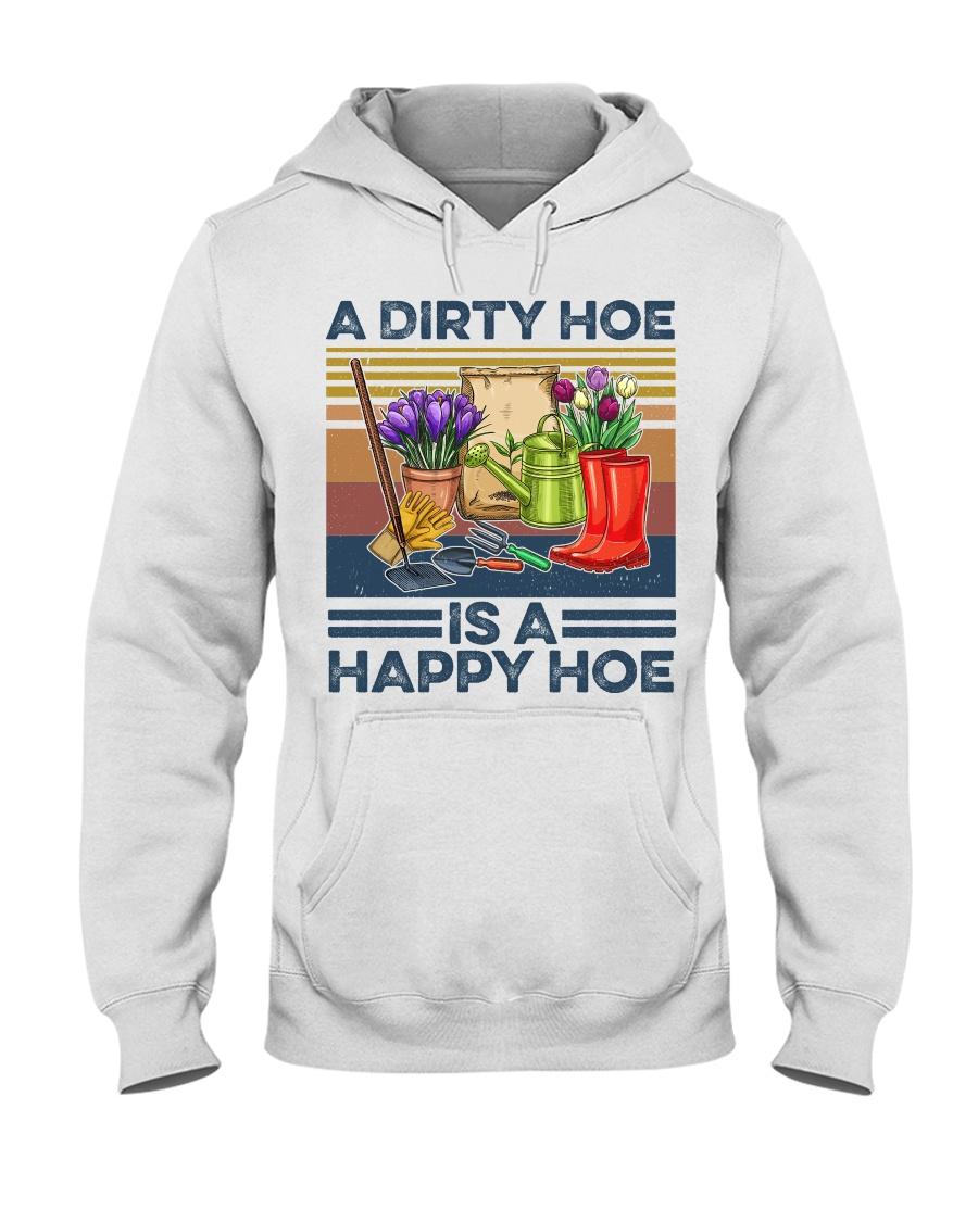 A dirty hoe is a happy hoe garden shirt hoodie