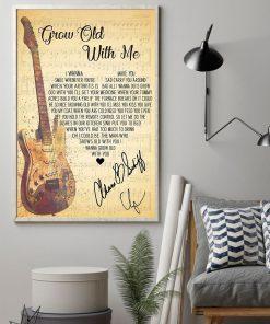 Adam Sandler - Grow Old With Me Lyrics Poster1