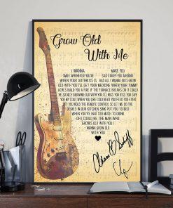 Adam Sandler - Grow Old With Me Lyrics Poster3