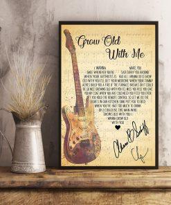 Adam Sandler - Grow Old With Me Lyrics Poster4