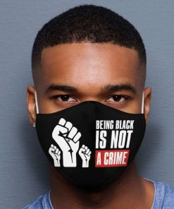 Being Black Is Not A Crime mask