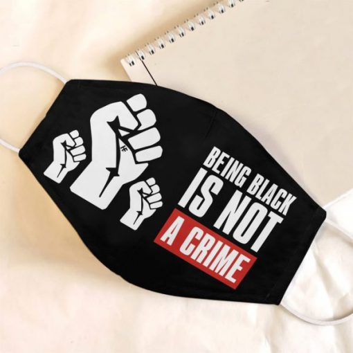 Being Black Is Not A Crime mask1