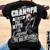 Biker Grandpa The Man The Myth The Legend shirt