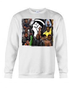 Black Lives Matter Black Superheroes Sweatshirt