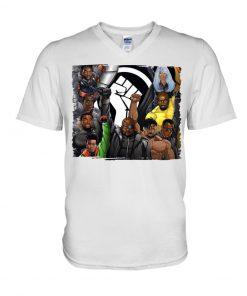 Black Lives Matter Black Superheroes V-neck