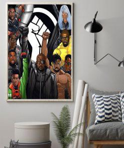 Black Lives Matter Superheroes poster1