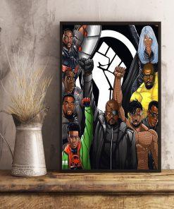 Black Lives Matter Superheroes poster3