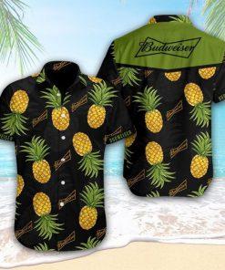 Budweiser Pineapple Tropical Hawaiian Shirt
