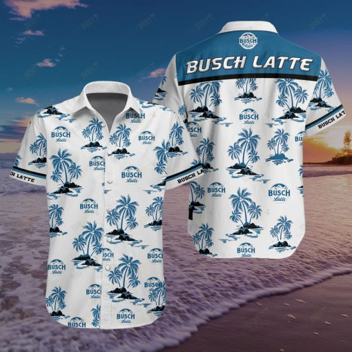Busch Latte Hawaiian Shirt