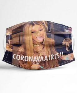 Cardi B CORONAVIRUS cloth mask 0