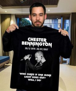 Chester Bennington Who cares if one more light goes out shirt