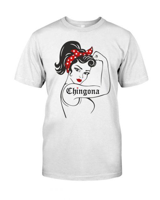 Chingona We can do it Strong Woman T-shirt