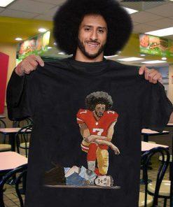 Colin Kaepernick protesting against police brutality shirt