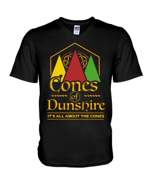 Cone Of the Dunshire It's all about the cones v-neck
