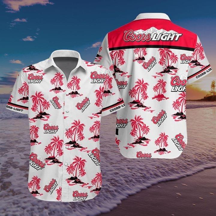 Coors Light hawaiian shirt