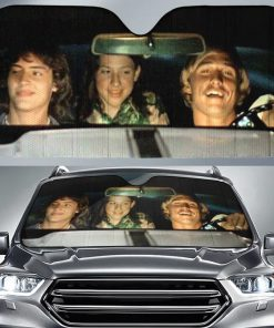 Dazed and Confused Car Sun Shade