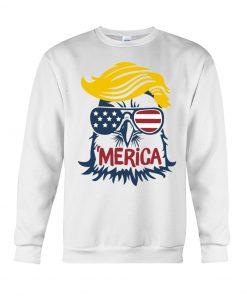 Donald Trump Eagle Merica Sweatshirt