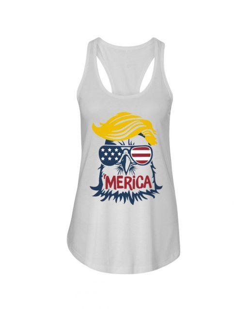 Donald Trump Eagle Merica Tank top