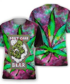 Don't Care Bear Weed 3D shirt