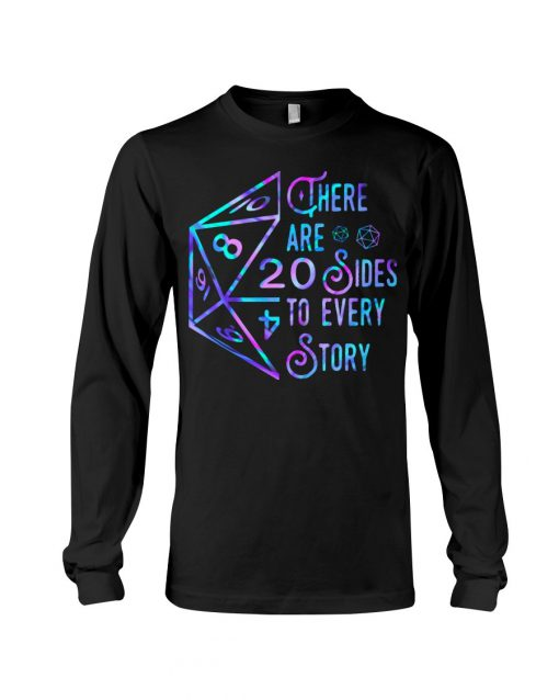 Dungeons and Dragons There are 20 sides to every story Long sleeve