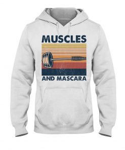 Fitness Muscles And Mascara hoodie