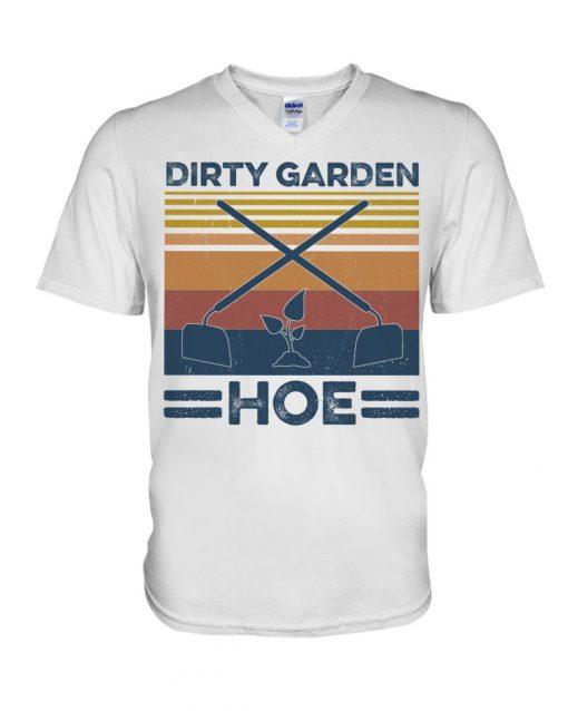 Garden Dirty Garden Hoe vintage V-neck