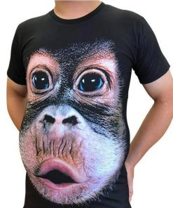 Gorilla Face 3D shirt