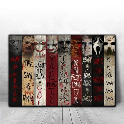Horror movies Eat People The saw is family I want to play game poster1