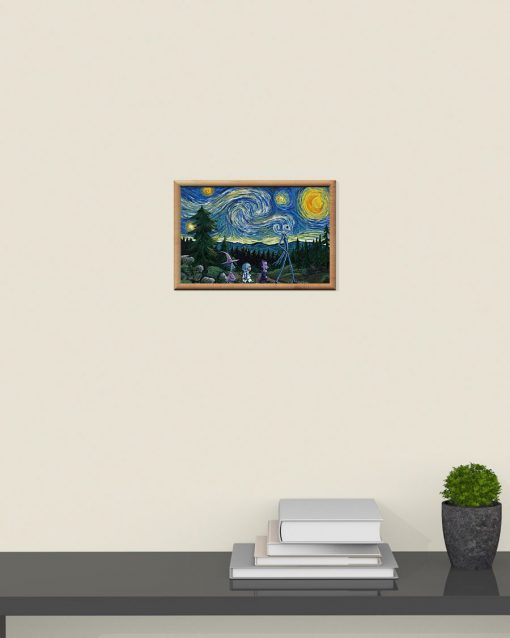 Jack Skellington Nightmare - Starry Night poster4