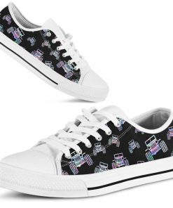 Jeep pattern low top shoes 1