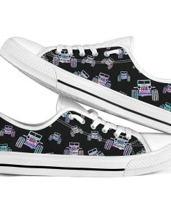 Jeep pattern low top shoes 2