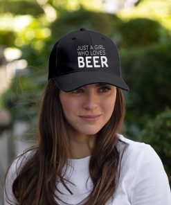 Just A Girl Who Loves Beer hat 4
