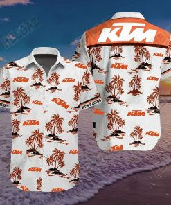 KTM Racing 3D Hawaiian shirt