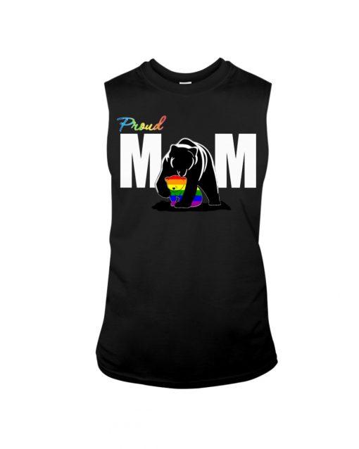 LGBT Proud Bear Mom tank top