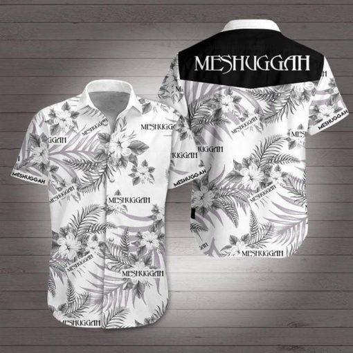 Meshuggah Flower Hawaiian 3D Shirt