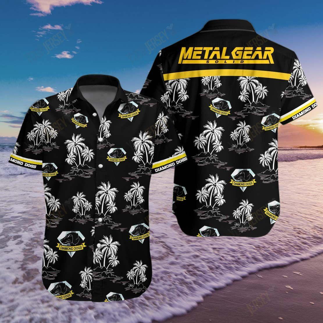 Metal Gear Solid Hawaiian Shirt