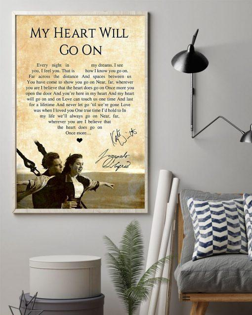 My Heart Will Go On - Céline Dion Lyrics poster2