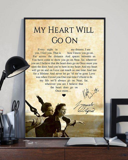 My Heart Will Go On - Céline Dion Lyrics poster3