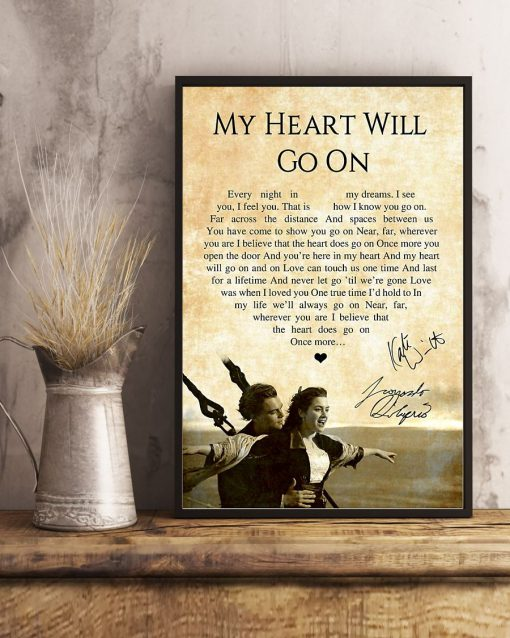 My Heart Will Go On - Céline Dion Lyrics poster4