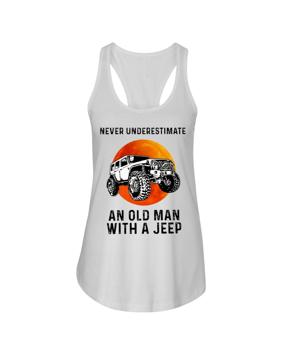 Never Understand an Old Man with A Jeep Sweater Hoodie Pullover Man Sports