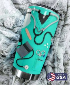 Not all angels have wings Some have stethoscopes personalized tumbler 2