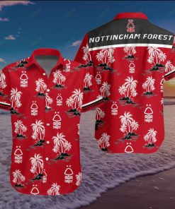 Nottingham Forest Football Club Hawaiian Shirt