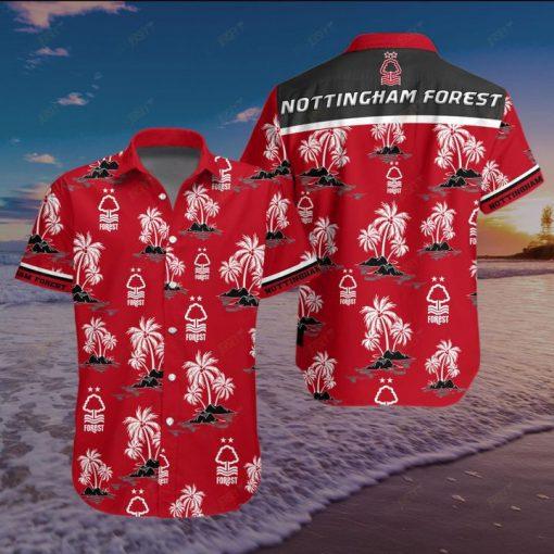 Nottingham Forest Football Club Hawaiian Shirt