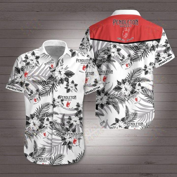 Pendleton Whisky Hawaiian shirt