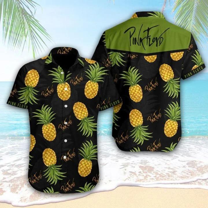 Pink Floyd Tropical Hawaiian Shirt