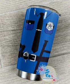 Police Officer Mom Most people never meet their heroes I raised mine personalized tumbler 4