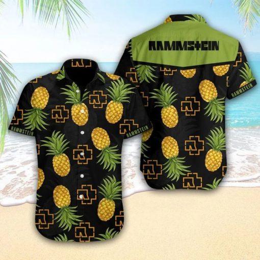 Rammstein Tropical Hawaiian Shirt