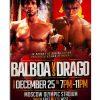 Rocky Balboa vs Ivan Drago poster 1