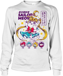 Sailor Meow Long sleeve